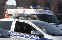 За прошедшие сутки в Армении было зарегистрировано 10 ДТП, пострадали 13 человек