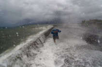 Тайфун «Хайма» обрушился на континентальный Китай