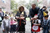 Երևանի 126 մանկապարտեզը հիմնանորոգումից հետո իր դռներն է բացել շուրջ 350 սաների առջև
