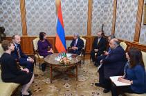 Серж Саргсян принял председателя Европейской платформы регулирующих органов