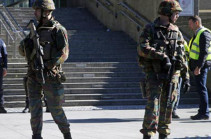 Вооруженные мужчины ворвались в торговый центр в Бельгии