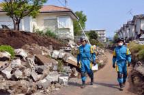 Ճապոնիայի արևմուտքում ավելի քան 100 հետցնցում է գրանցվել
