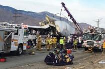 Կալիֆոռնիայում խոշոր ՃՏՊ-ի հետևանքով զոհվել է 13 մարդ