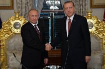 ՌԴ-ն ու Թուրքիան պայմանավորվել են փոխանակվել Սիրիայի վերաբերյալ հետախուզության տվյալներով