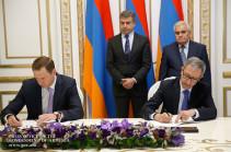 ՀՀ կառավարության և «Ռոսգեոլոգիա» ընկերության միջև ստորագրվել է համագործակցության հուշագիր