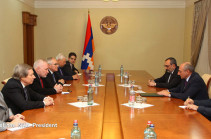 Ադրբեջանը շարունակում է հավատարիմ մնալ իր ապակառուցողական դիրքորոշմանը. Արցախի նախագահն ընդունել է Մինսկի խմբի համանախագահներին