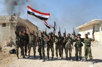 Թուրք զինվորականներ. Սիրիական բանակն ընդդիմադիրների դիրքերին հարվածներ է  հասցրել