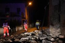 Իտալիայում տեղի ունեցած երկրաշարժի հետևանքով տուժել է առնվազն 8 մարդ