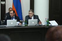 Предлагается изменить порядок деятельности правительства Армении