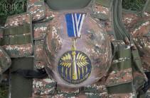 Զինծառայող Գուրգեն Այվազյանը հետմահու պարգևատրվել է «Մարտական ծառայություն» մեդալով