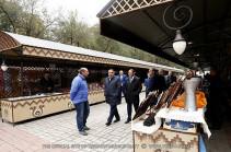 «Вернисаж» станет одной из визитных карточек Еревана