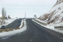 Минтранс Армении: Все межгосударственные и республиканские автотрассы открыты для движения