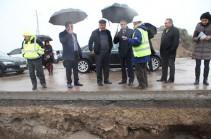 Վահան Մարտիրոսյանը հանձնարարել է Հյուսիս-հարավ մայրուղու շինաշխատանքներն իրականացվեն առավելագույն բարձր որակով