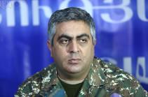 В военных условиях командование совместной армяно-российской группировкой назначается верховными главнокомандующими двух стран – пресс-секретарь Минобороны