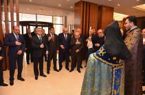 Серж Саргсян присутствовал на церемонии открытия гостиничного комплекса  Ararat Resort в Цахкадзоре