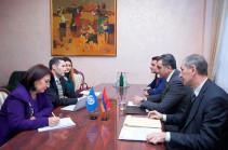 ՄԱԿ-ի պարենի և գյուղատնտեսության կազմակերպությունը կաջակցի Հայաստանում ձկնաբուծության ու հակակարկտային ցանցերի զարգացմանը