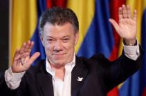 2016 թվականի Խաղաղության նոբելյան մրցանակը կհանձնվի Կոլումբիայի նախագահին