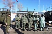 В Армении начались полевые выходы подразделений РХБ защиты ЮВО