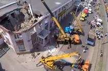Во время матча по флорболу в Чехии обрушилась крыша спортивной арены