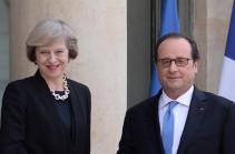 Олланд и Мэй обсудили тему Brexit