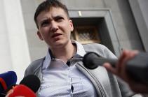 Սավչենկո. Դոնբասի ազատագրումը հնարավոր է միայն Ղրիմից հրաժարվելու դեպքում