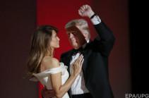 Դոնալդ և Մելանյա Թրամփերը պարել են առաջին պարը (Տեսանյութ)