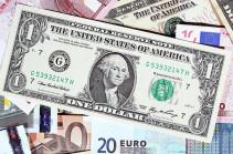 Դոլարի գինն իջել է, եվրոյինը՝ բարձրացել, ռուբլունը մնացել անփոփոխ