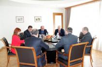 Սուրեն Կարայանը PricewaterhouseCoopers Armenia-ի հետ քննարկել է դեպի Հայաստան ներդրումների ներգրավումը