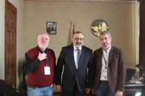 Министр иностранных дел НКР принял депутатов Европейского парламента