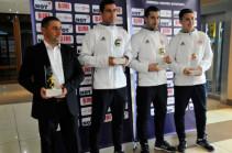 Генриху Мхитаряну вручена награда лучшего футболиста Армении
