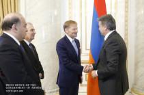 Վարչապետն ընդունել է Եվրոպական ներդրումային բանկի փոխնախագահին