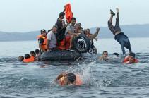 Около 250 нелегальных мигрантов погибли у берегов Ливии