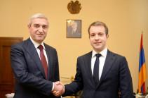 Վահան Մարտիրոսյանն ընդունել է Ռուսաստանի կապի և զանգվածային  հաղորդակցության նախարար Նիկոլայ Նիկիֆորովին