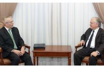 Эдвард Налбандян встретился с американским сопредседателем Минской группы ОБСЕ