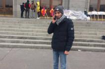 Сидячая акция на площади Свободы в Ереване прекращена – Шаген Арутюнян