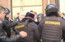 Դատարանը տուգանել է Նավալնիին Մոսկվայում չարտոնված ցույց կազմակերպելու համար (Տեսանյութ)
