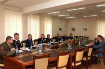 В Армению прибыла делегация Европейского командования ВС США