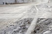 Հայաստանի 5 մարզերում ձյուն է տեղում. կան փակ և դժվարանցանելի ավտոճանապարհներ