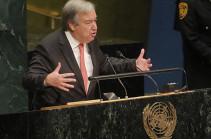 ՄԱԿ գլխավոր քարտուղարը հայտնել է պաղեստինյան խնդրի լուծման միակ ուղու մասին