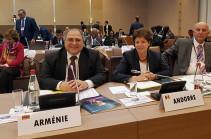 Ֆրանկոֆոնիայի մշտական խորհրդում ՀՀ ներկայացուցիչն ընտրվեց փաստաթղթերի կազմման հատուկ հանձնաժողովի նախագահ