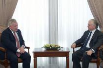 Նալբանդյանն ու ԵԱՀԿ Խորհրդարանական վեհաժողովի փոխնախագահը զրուցել են խորհրդարանական ընտրությունների նախապատրաստական աշխատանքների շուրջ