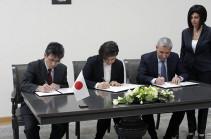 Հայաստանի և Ճապոնիայի կառավարությունների միջև դրամաշնորհի համաձայնագիր է ստորագրվել