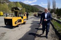 Տրանսպորտի նախարարը հանձնարարել է մինչև մայիսի 15-ը ճանապարհների փոսալցման աշխատանքներն ավարտվել