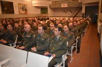 Զինված ուժերի 5-րդ բանակային կորպուսում ամփոփել են կատարված աշխատանքները