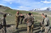 4-րդ բանակային զորամիավորումում անցկացվել է գումարտակային զորավարժություն` մարտական հրաձգությամբ (Լուսանկարներ)