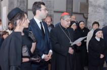 Посол Армении при Святом Престоле в Риме и Неаполе принял участие в мероприятиях, приуроченных ко Дню памяти жертв Геноцида армян