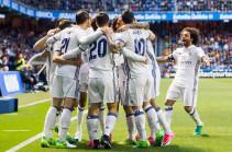«Реал» забил «Депортиво» шесть голов и догнал «Барселону»