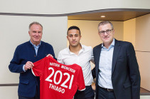 Алькантара продлил контракт с «Баварией»