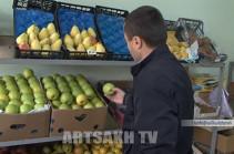 Ադրբեջանական խնձորը հասավ Արցախ. Ստեփանակերտի շուկայում ստուգումներ են անցկացվում (Տեսանյութ)