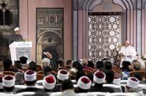 Հռոմի պապն ահաբեկչության դեմ պայքարի համար կրոնների միավորման կոչ է արել
